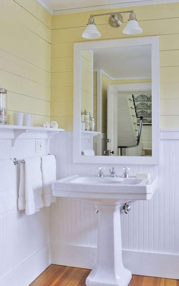 15 yellow bathroom ideas and designs you must see for Bathroom seen photos