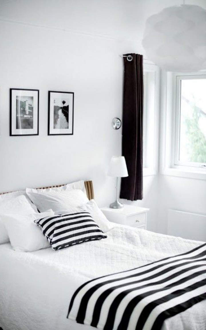 17 black and white bedroom designs you must see for Bedroom nothing lasts
