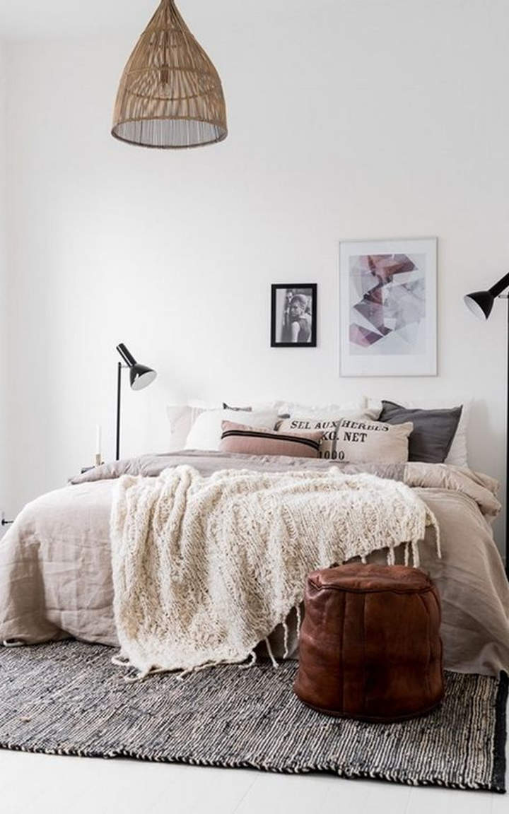 Charming Natural Bedroom #4
