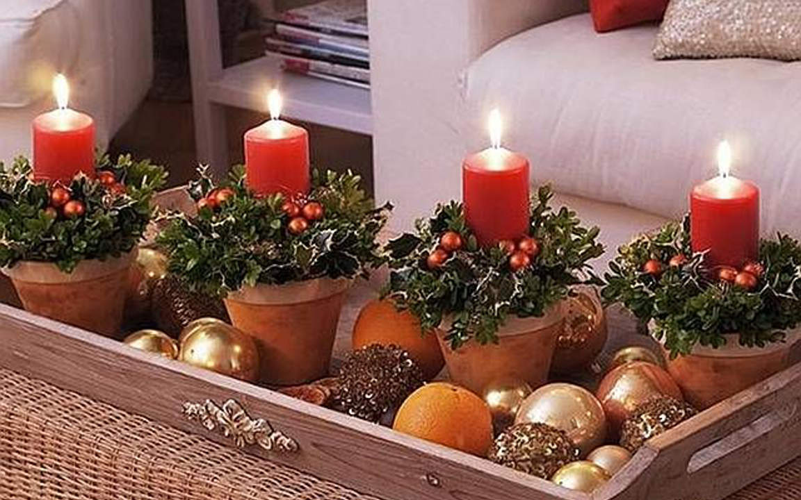 beautiful indoor christmas decor ideas part 2 - Indoor Christmas Decorations Ideas