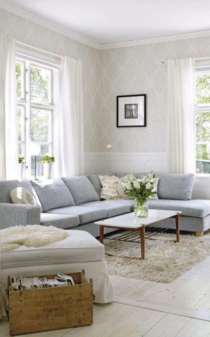 Beautiful Living Room Wallpaper Designs