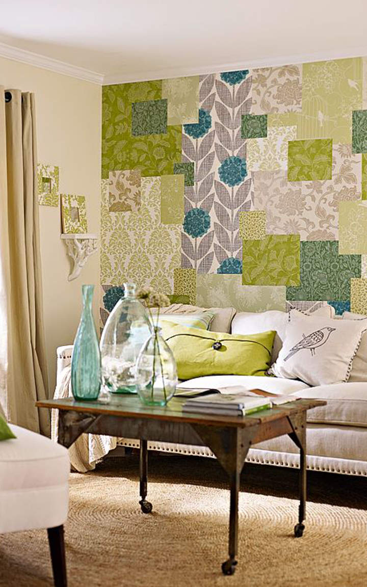 Beautiful living room wallpaper designs for Beautiful living room designs