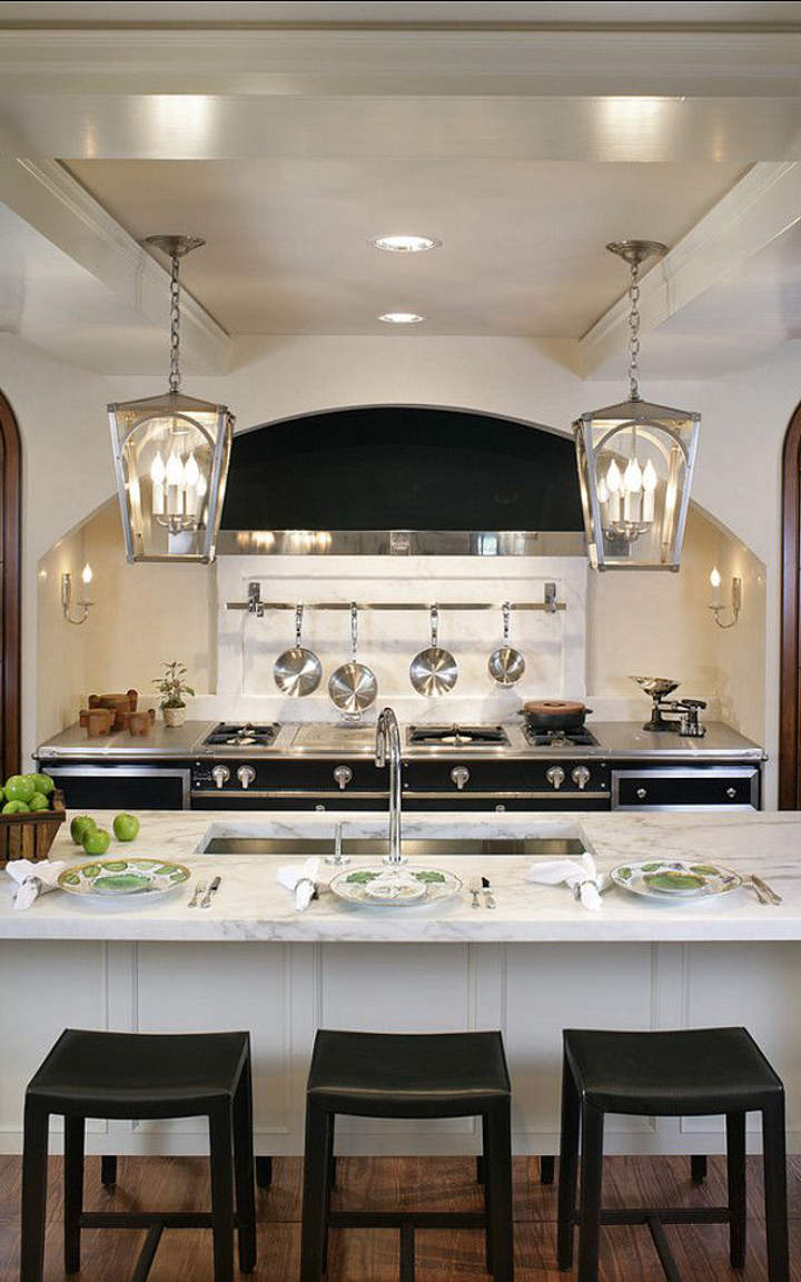 kitchen design decorating ideas black and white kitchen ideas and designs 162