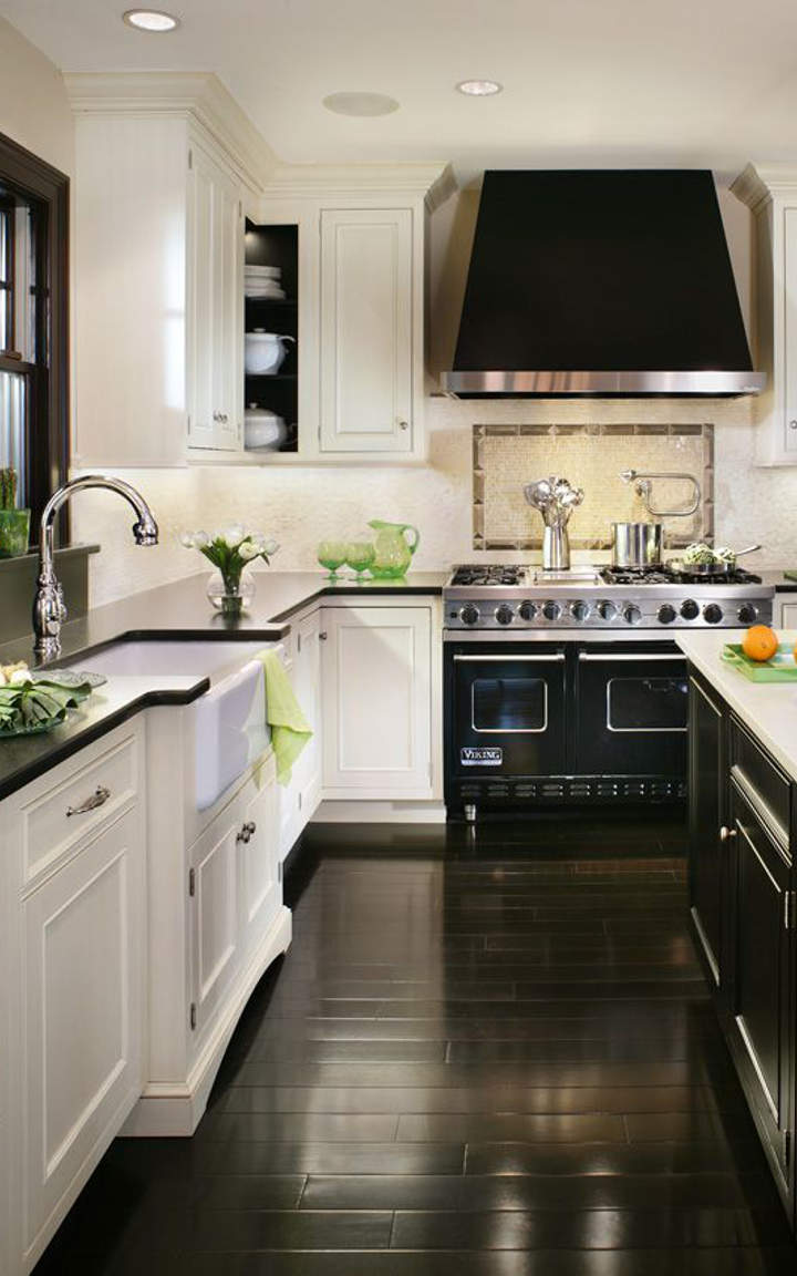 Black And White Kitchen #2