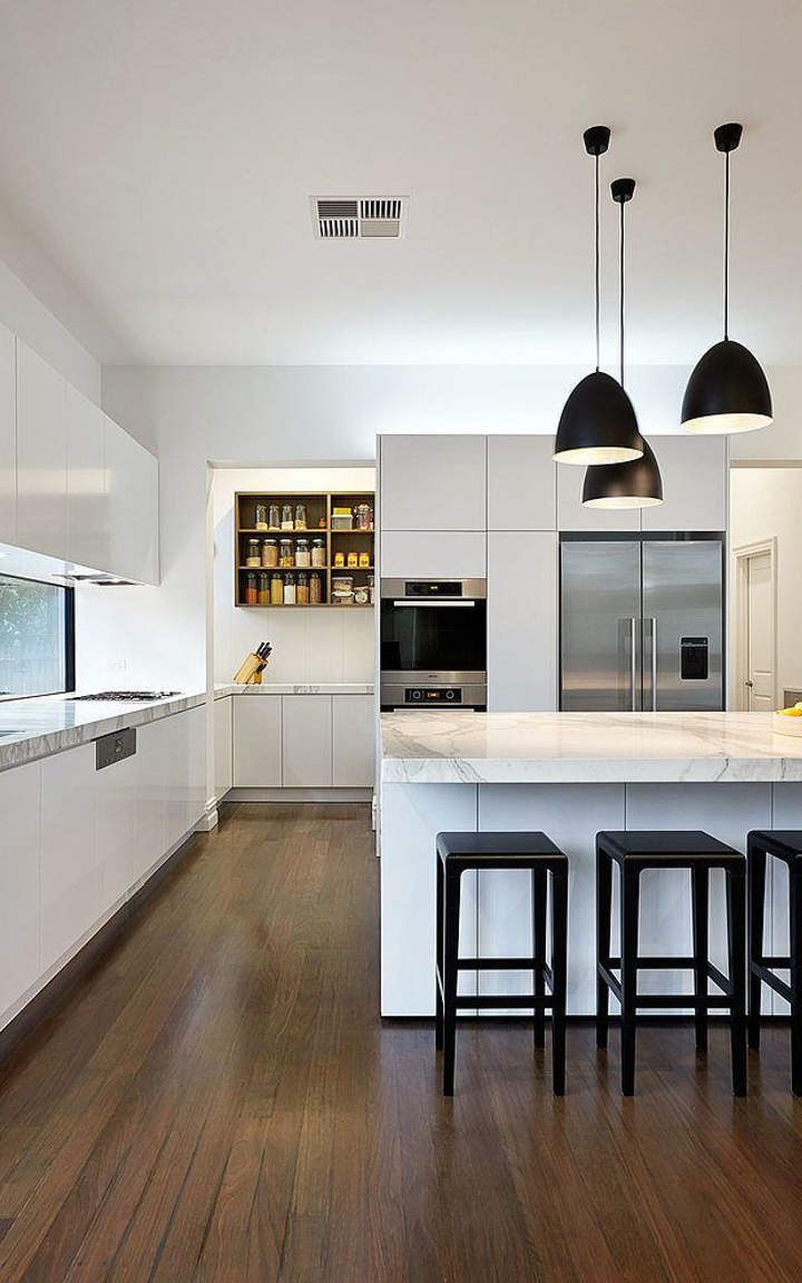 Black And White Kitchen Design Ideas ~ Black and white kitchen ideas designs
