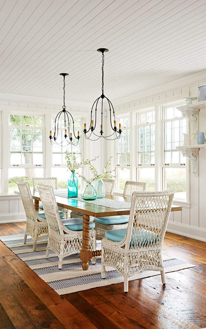 Coastal dining room designs and ideas for Coastal dining room ideas