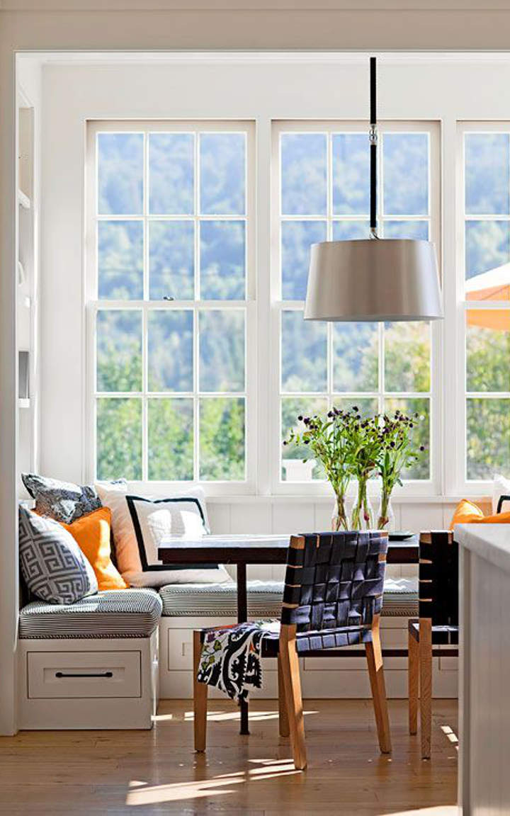 Cute And Practical Kitchen Window Seat Ideas
