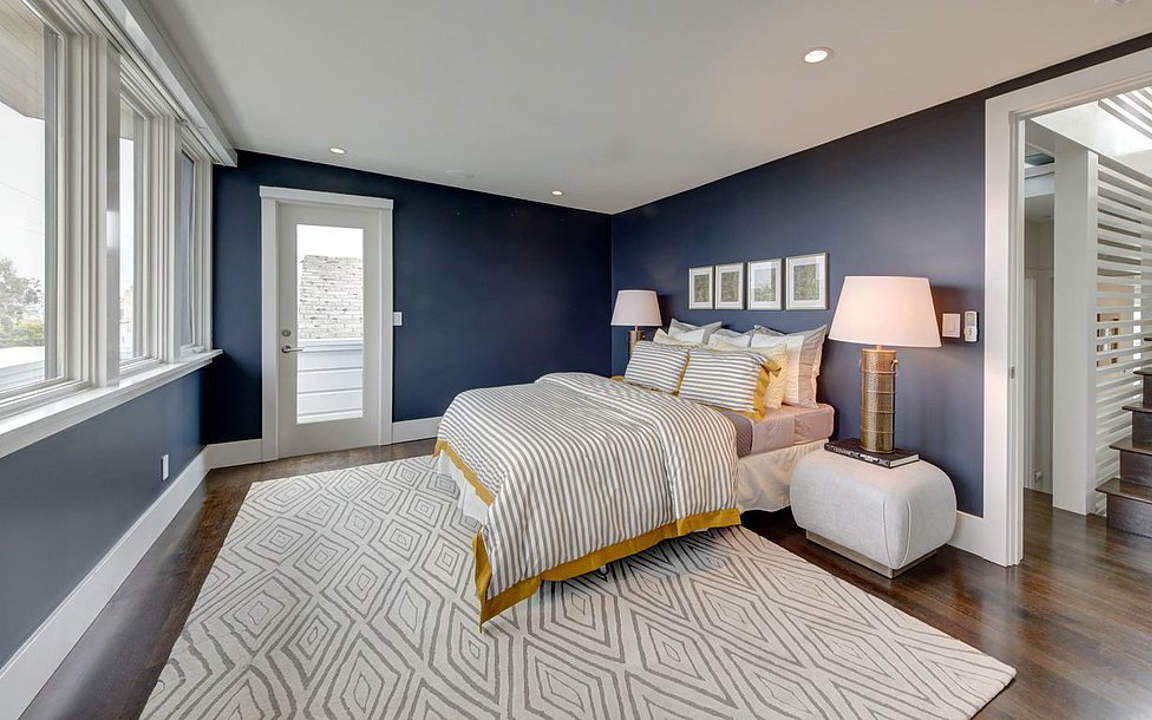 14 Best Photo Of Navy Blue Bedroom