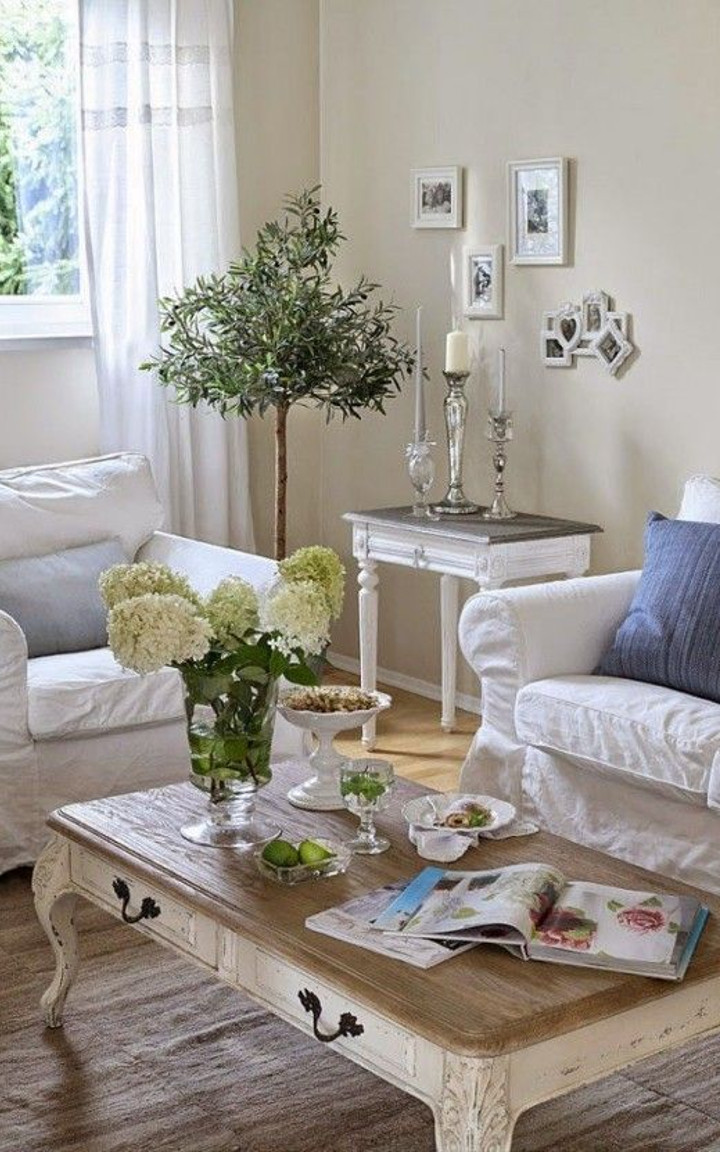 Shabby Chic Living Room #2