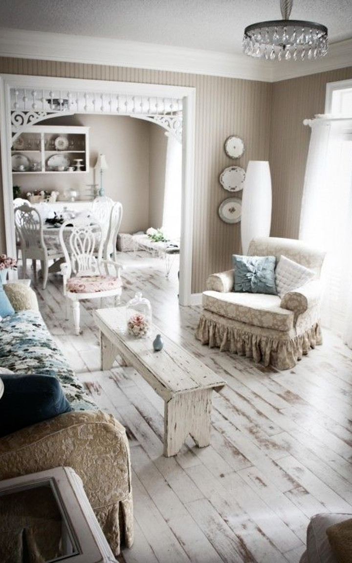 country chic living room. shabby chic living room  3 How to create a beautiful