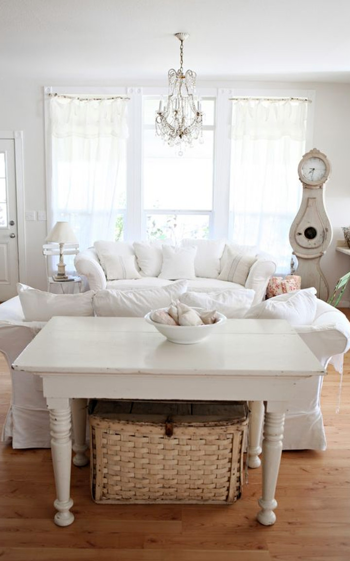 How To Create A Beautiful Shabby Chic Living Room