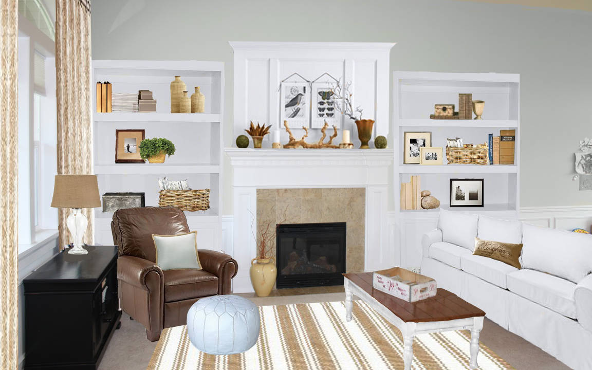 How to create a classy vintage living room for Living room makeovers