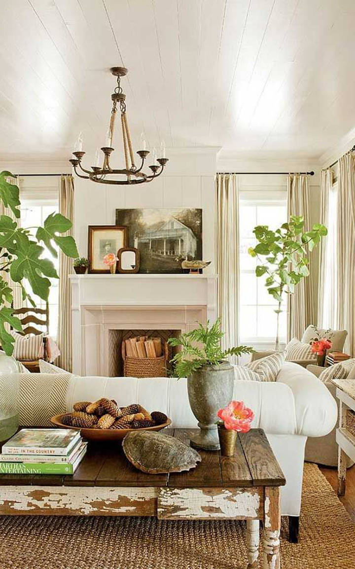 How to create a classy vintage living room for Living room 3