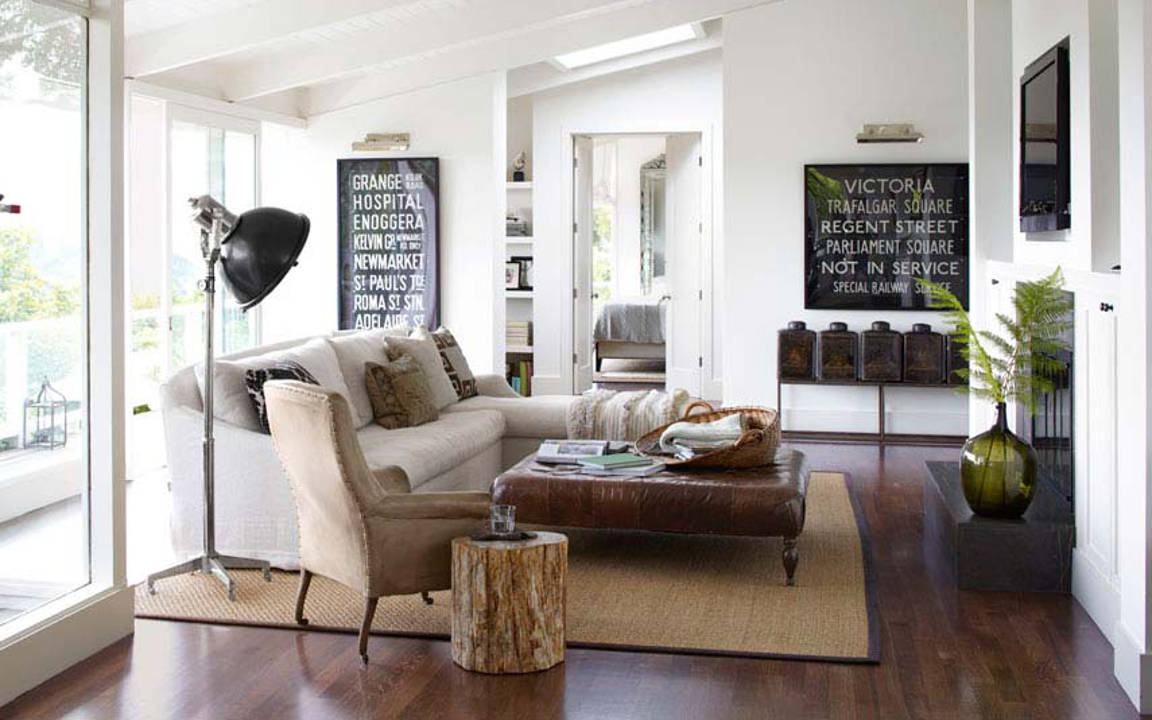 How to create a classy vintage living room for Idee arredamento salotto