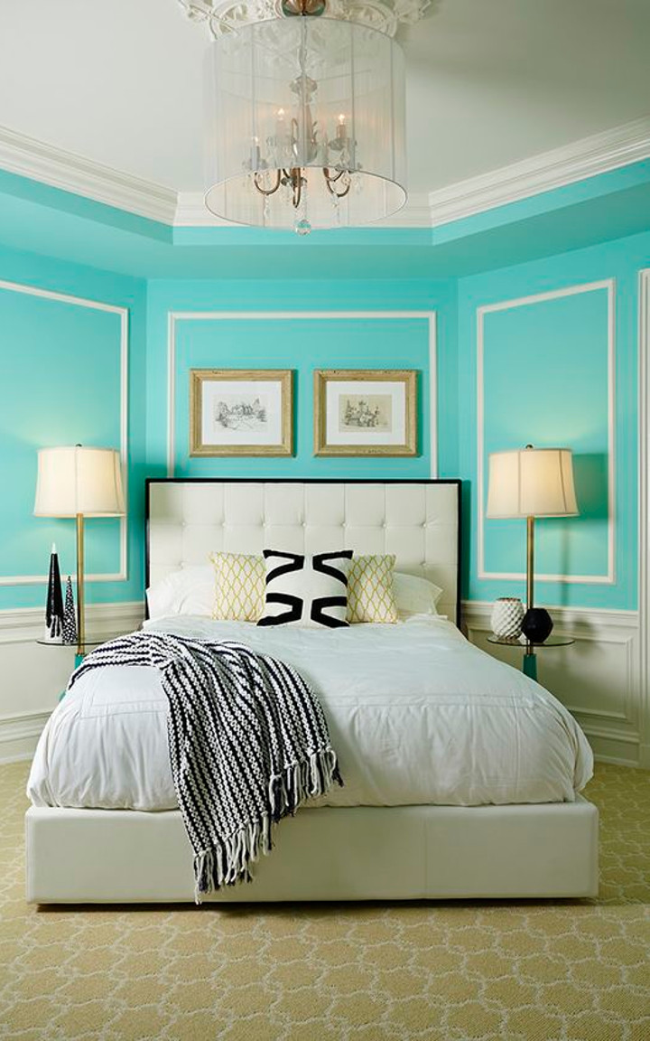 Tiffany Blue Bedroom 2