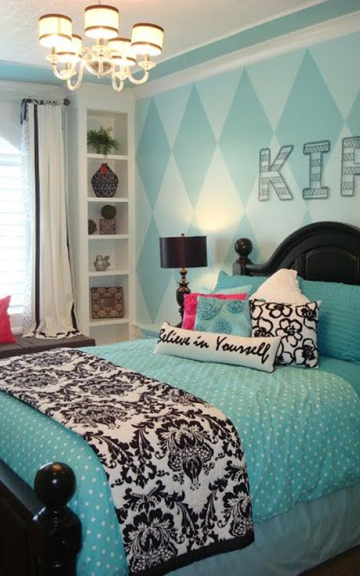 Tiffany Blue Bedroom 3