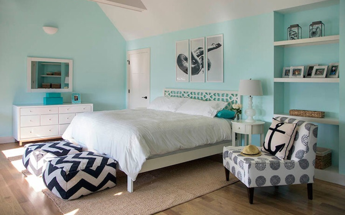 Tiffany blue bedroom 6