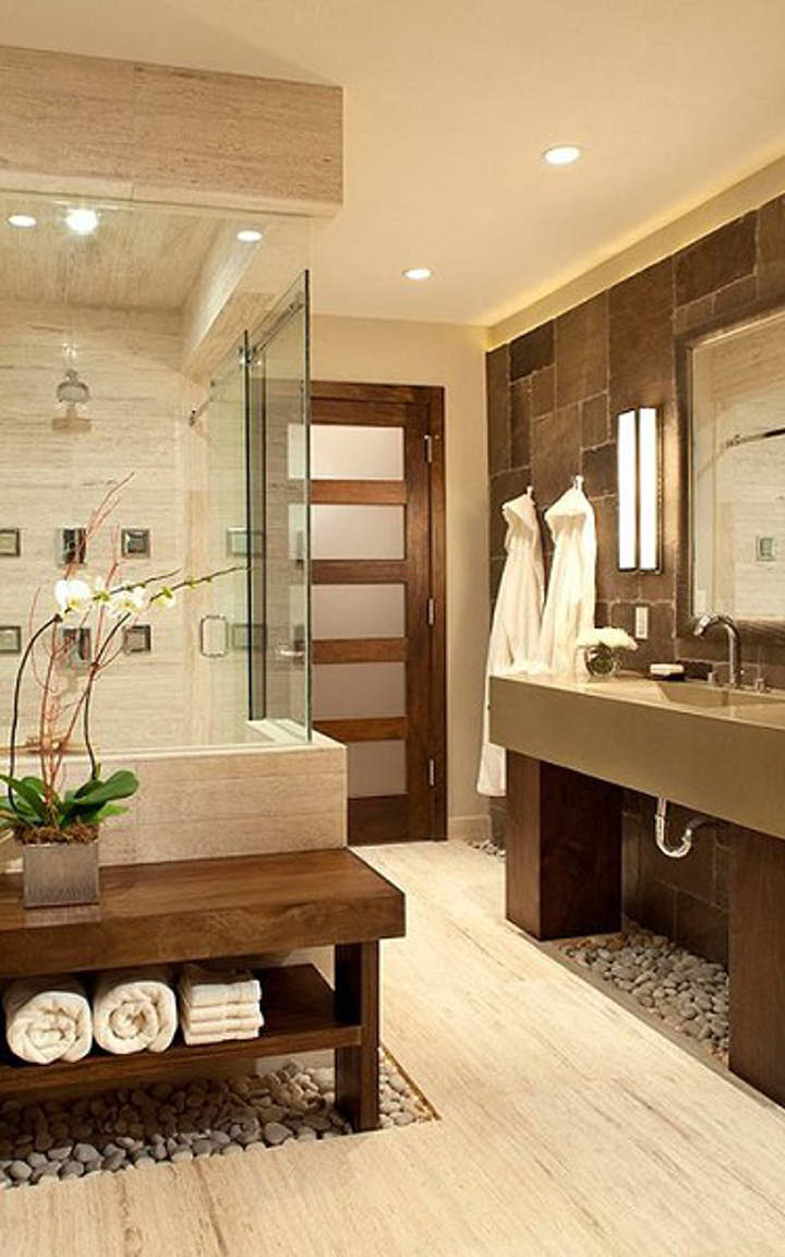 Natural Bathroom Design Ideas ~ Natural bathroom designs