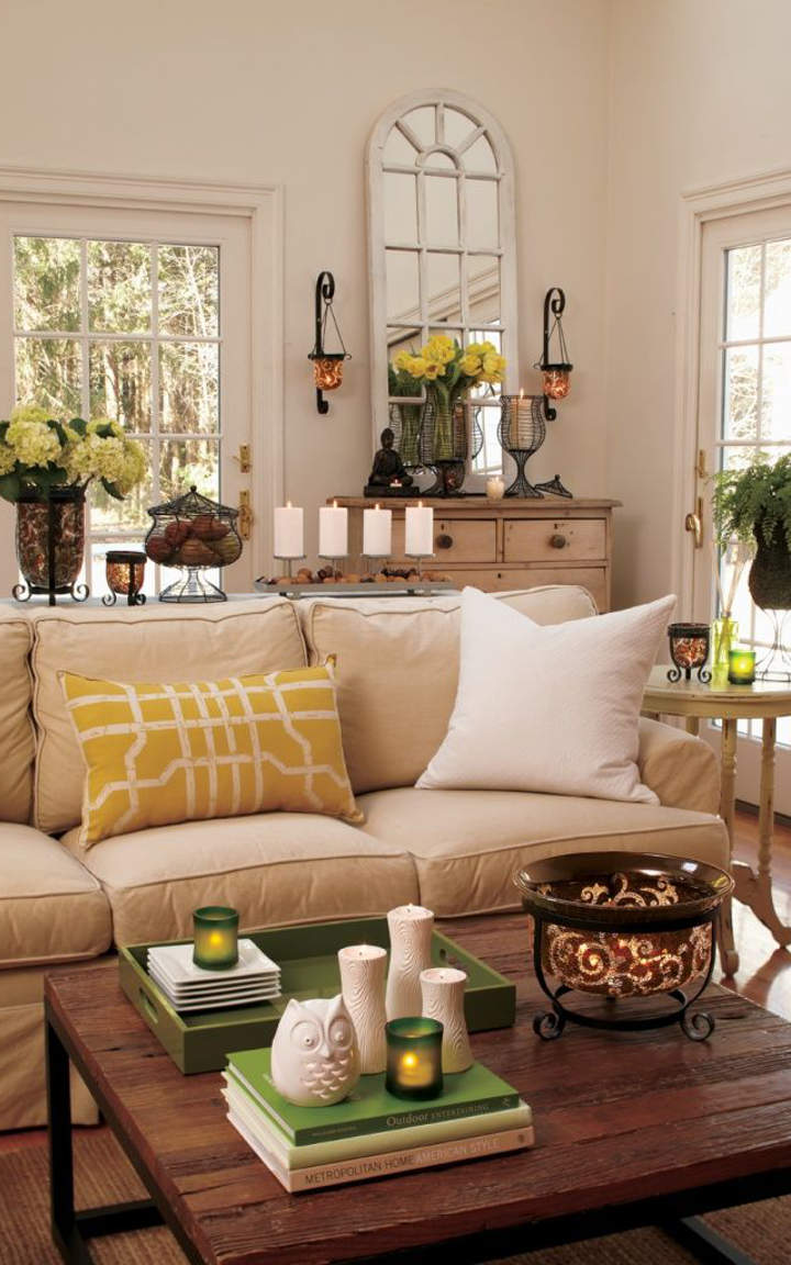 Natural living room designs Natural decorating