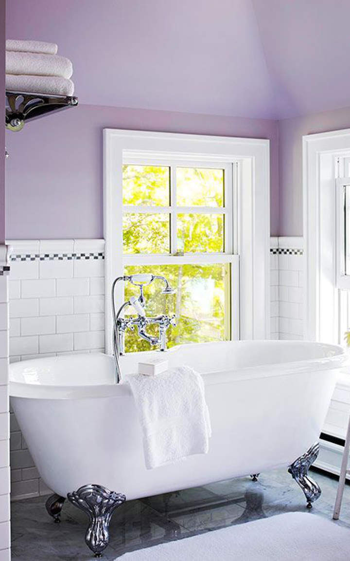 Purple Bathroom #1