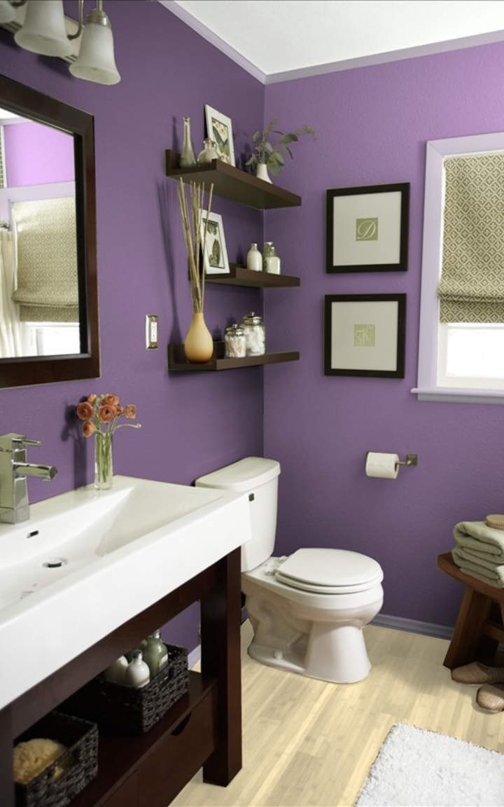 Purple Bathroom Designs And Ideas