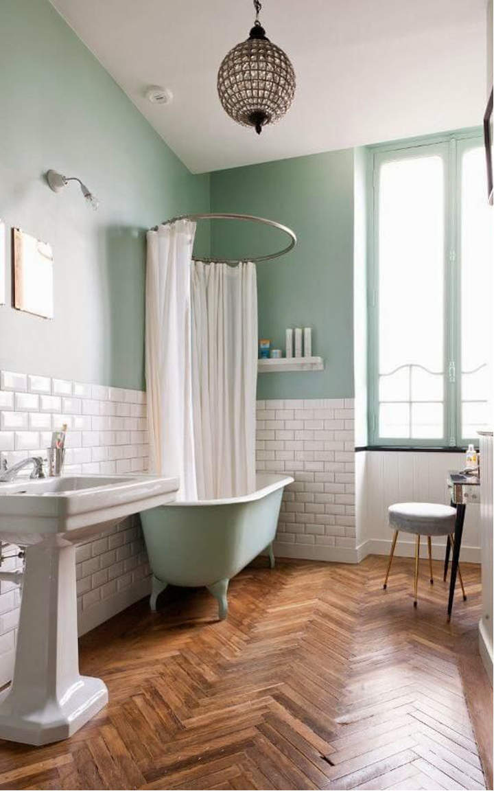 Retro bathroom ideas and designs for Salle de bain art deco