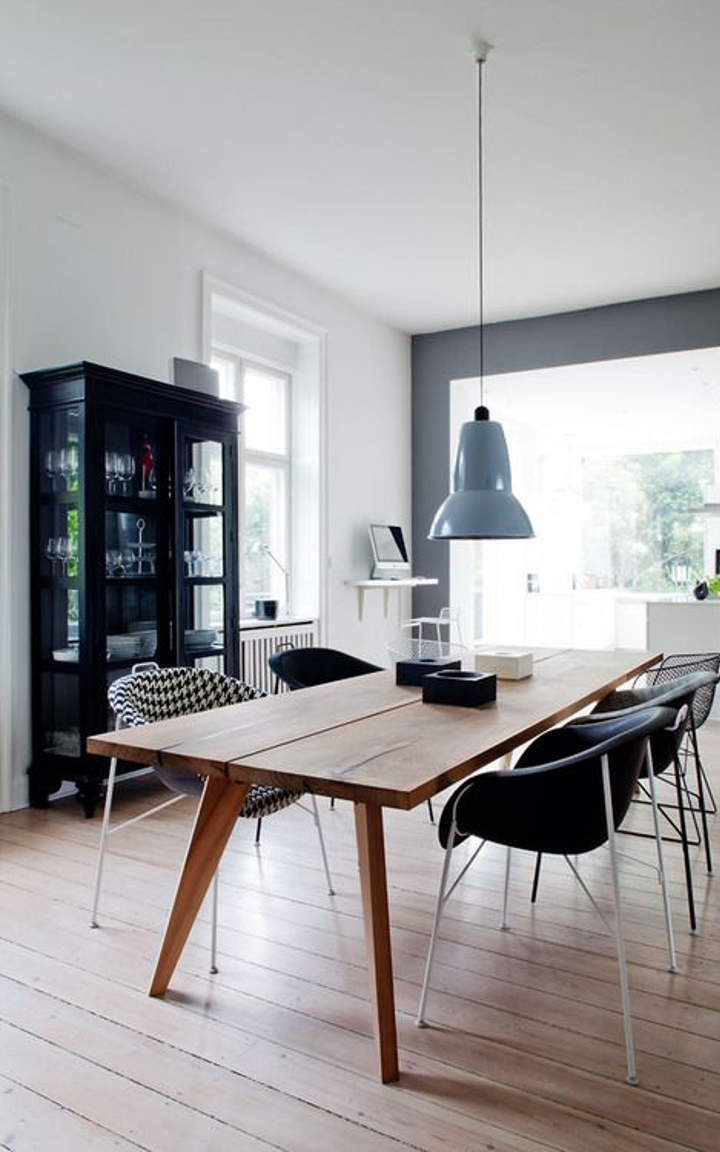 Retro dining room designs that you can copy