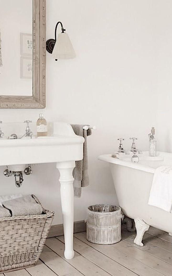 Shabby chic bathroom ideas - Bagno stile shabby ...
