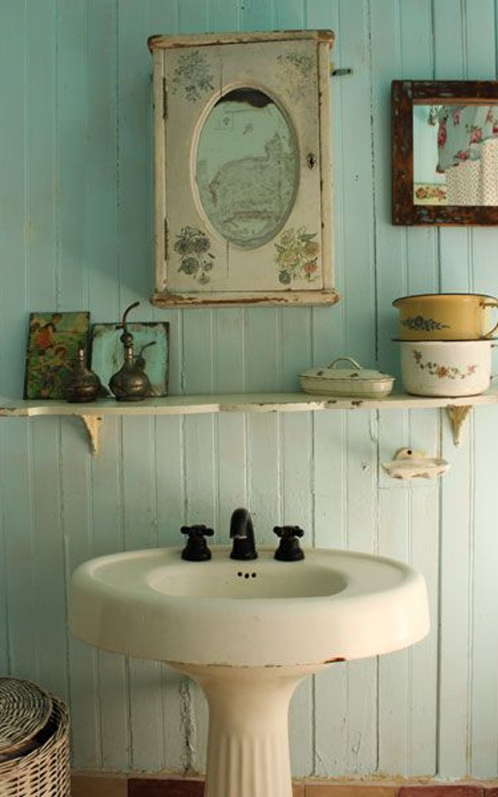 Shabby chic bathroom ideas - Ideas para banos ...