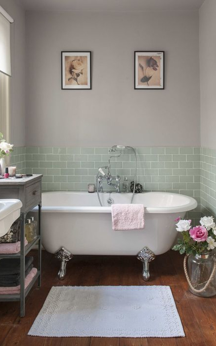 Shabby chic bathroom decorating ideas
