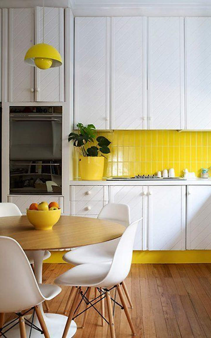 Yellow Kitchen 4