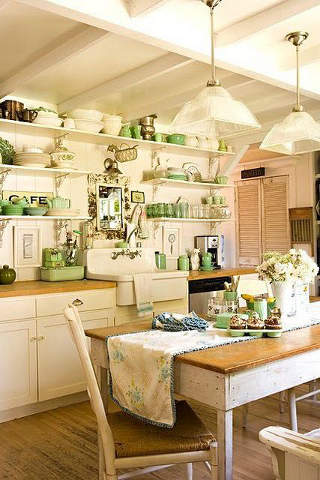 14 beautiful vintage kitchen designs you must see