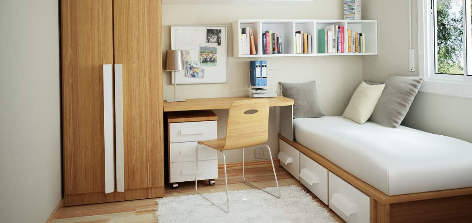 Big Ideas For Small Bedrooms Part - 19: CozyGuide.com