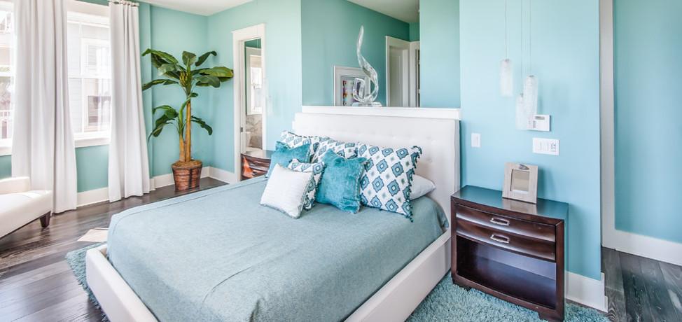 Tiffany Blue Inspired Bedroom