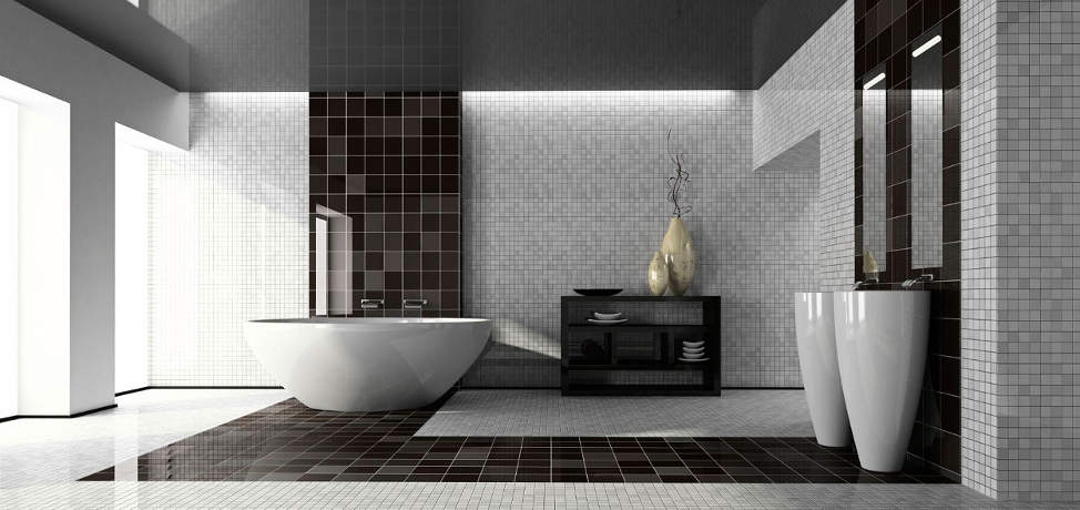 modern black and white bathroom modern black and white bathroom designs 23807